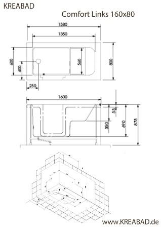 sitzbadewanne mit t r badewanne mit t r sitzwanne mit einstieg. Black Bedroom Furniture Sets. Home Design Ideas