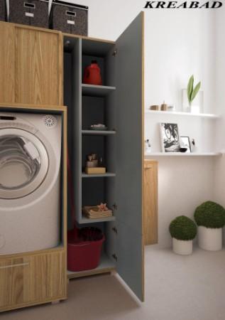 badm bel set mit waschmaschinenschrank reuniecollegenoetsele. Black Bedroom Furniture Sets. Home Design Ideas