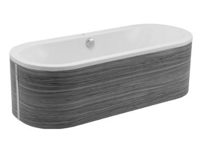 badewannen 180x80 freistehende badewanne 1800x800mm badewannen freistehend moderne elegante. Black Bedroom Furniture Sets. Home Design Ideas