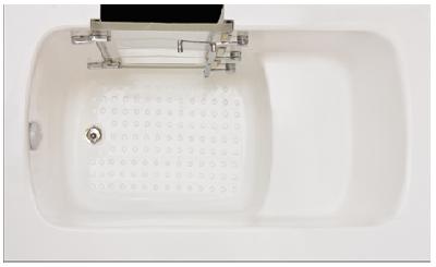 barrierefreie badewannen mit t r einstieg begehbare badewanne wanne sitzwanne mit einstiegst r. Black Bedroom Furniture Sets. Home Design Ideas